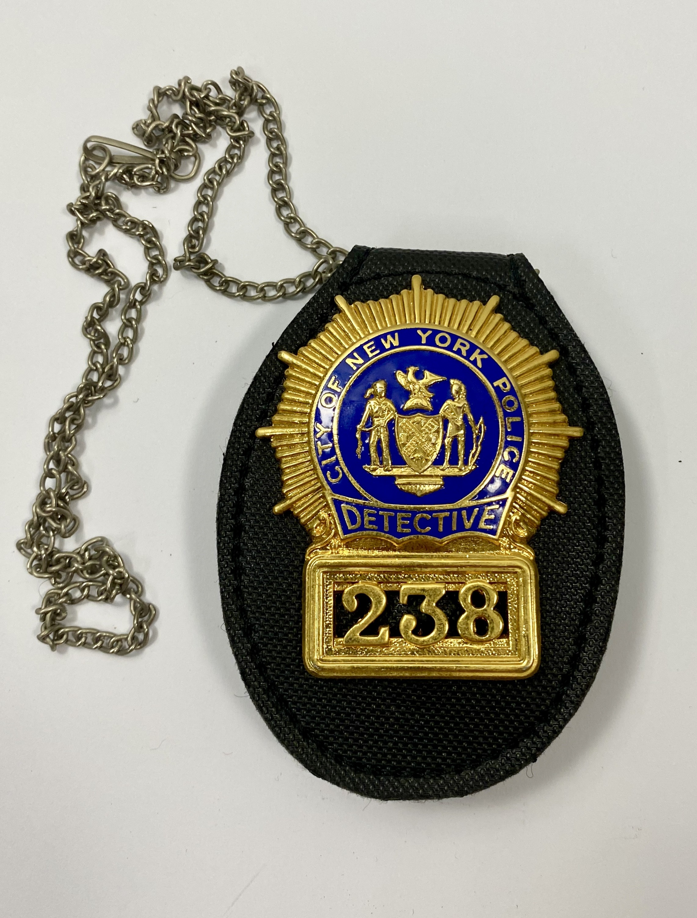 CUELLO-CITY OF NEW YORK POLICE DETECTIVE 238 POLICE BADGE