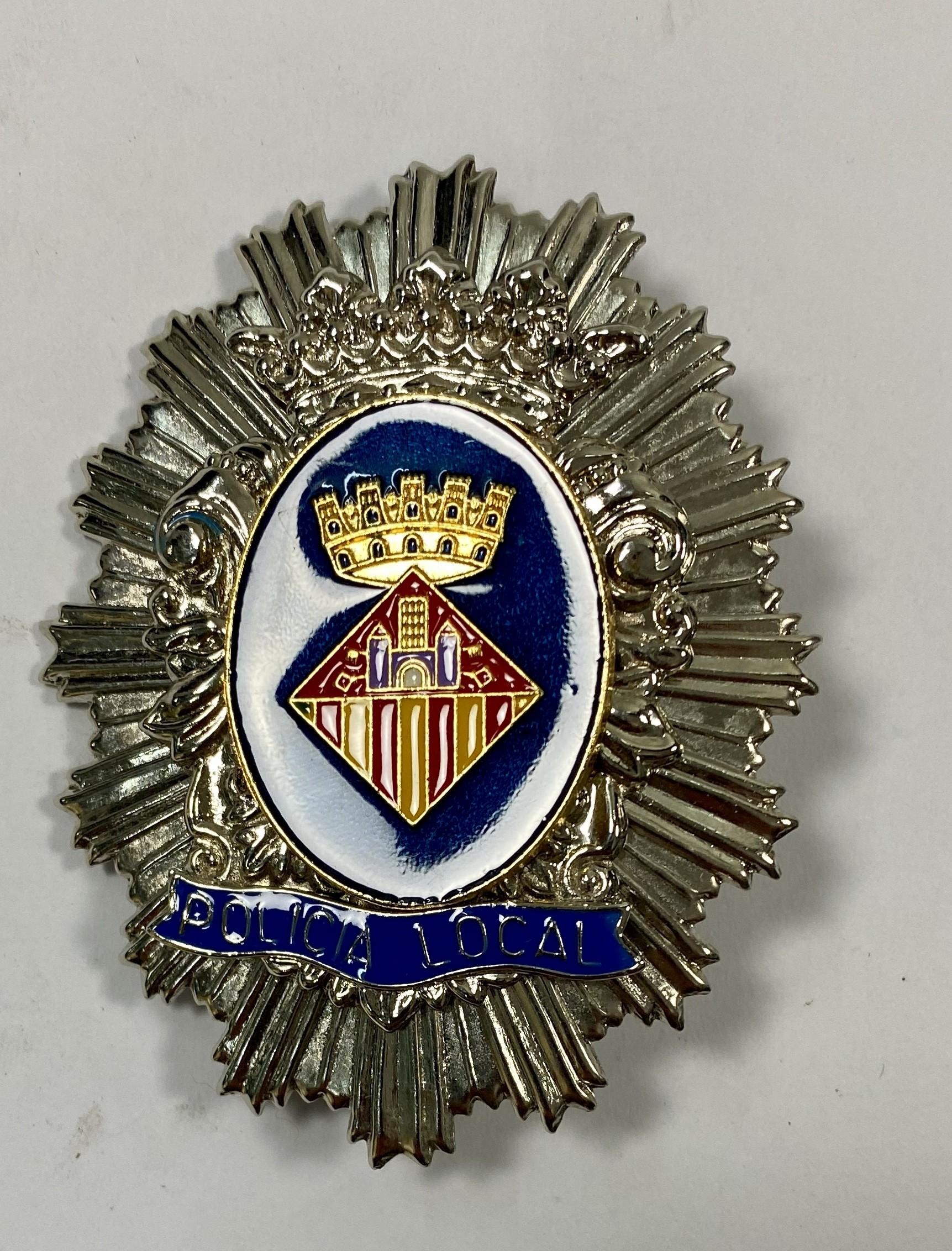 LOC-SANT CUGAT PLACA DE PECHO POLICIA LOCAL