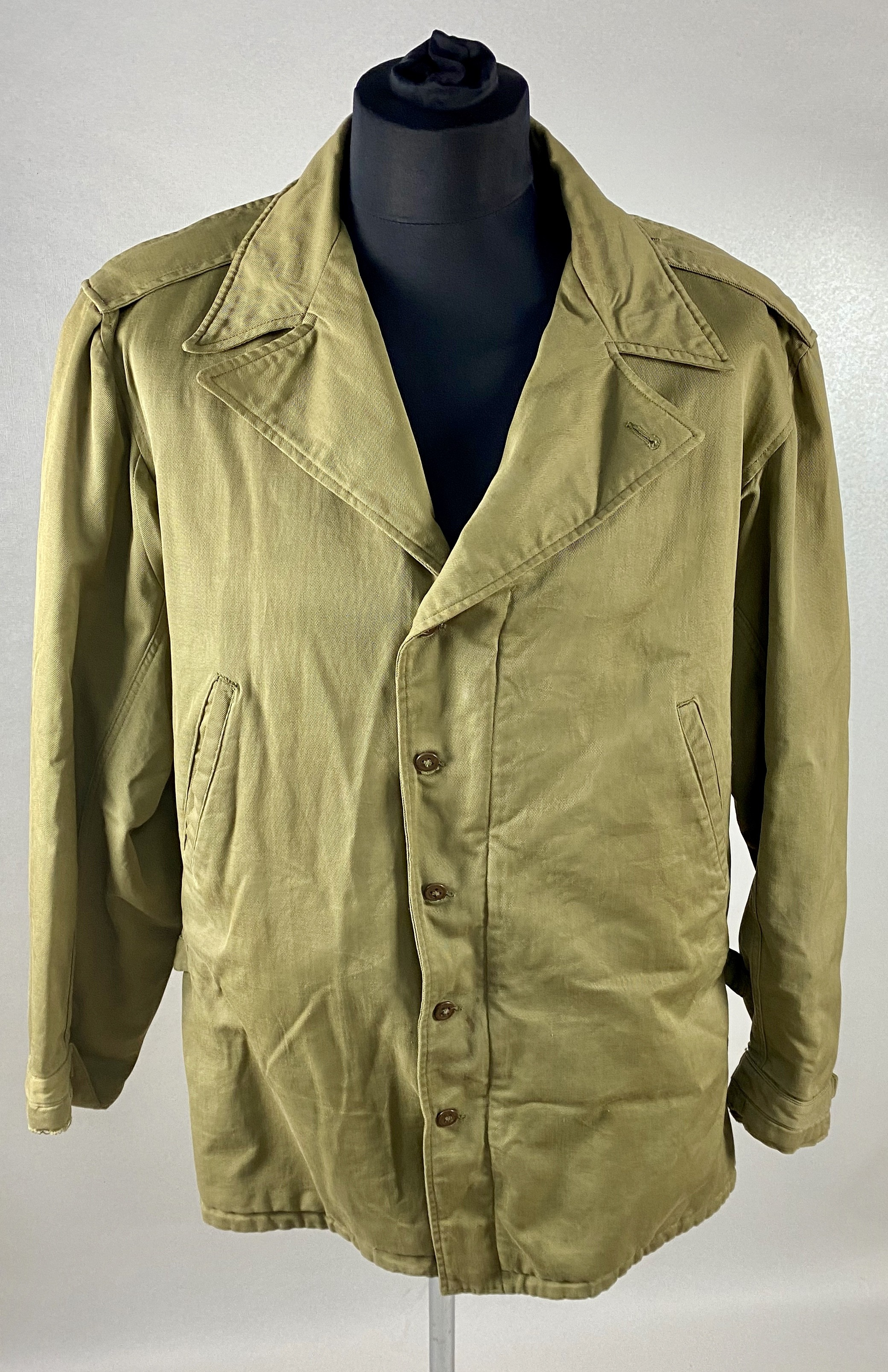 UN-FIELD JACKET U.S. ARTIC OD M-1943 WWII