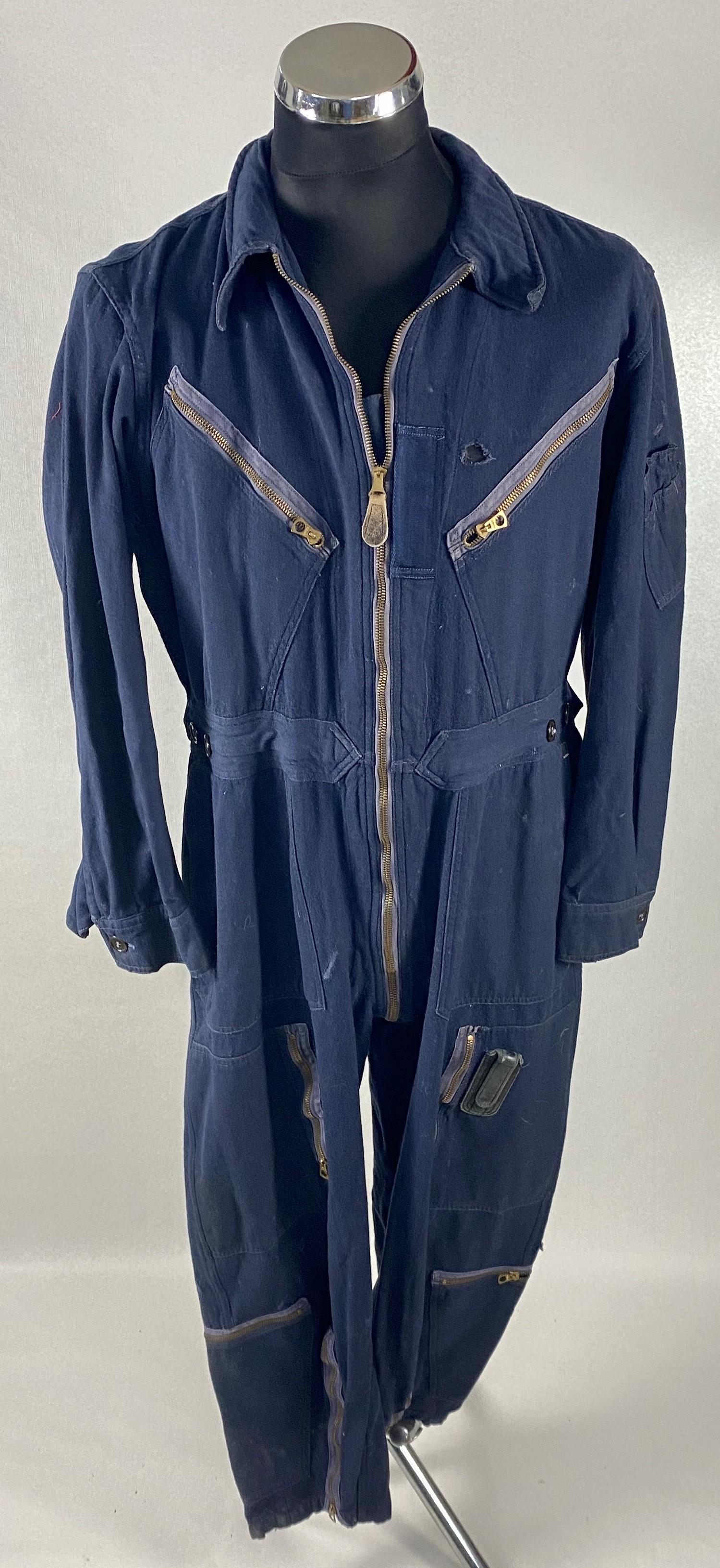 UN-SUIT FLYING LIGHT TYPE L-1 AZUL WWII