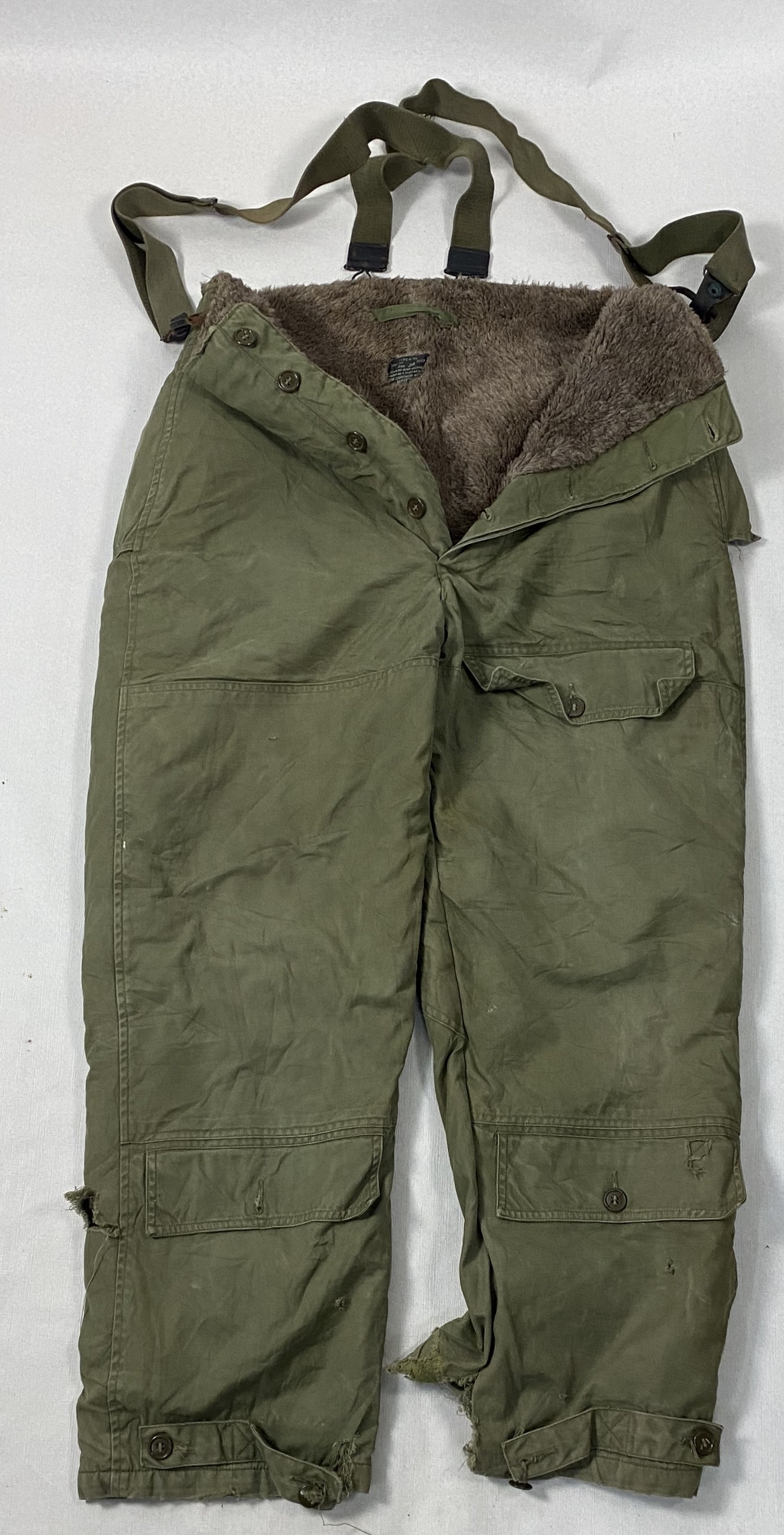UN-TROUSERS AIR FORCES US ARMY TYPE A-10 COLD WEATHER S-3179 WWII