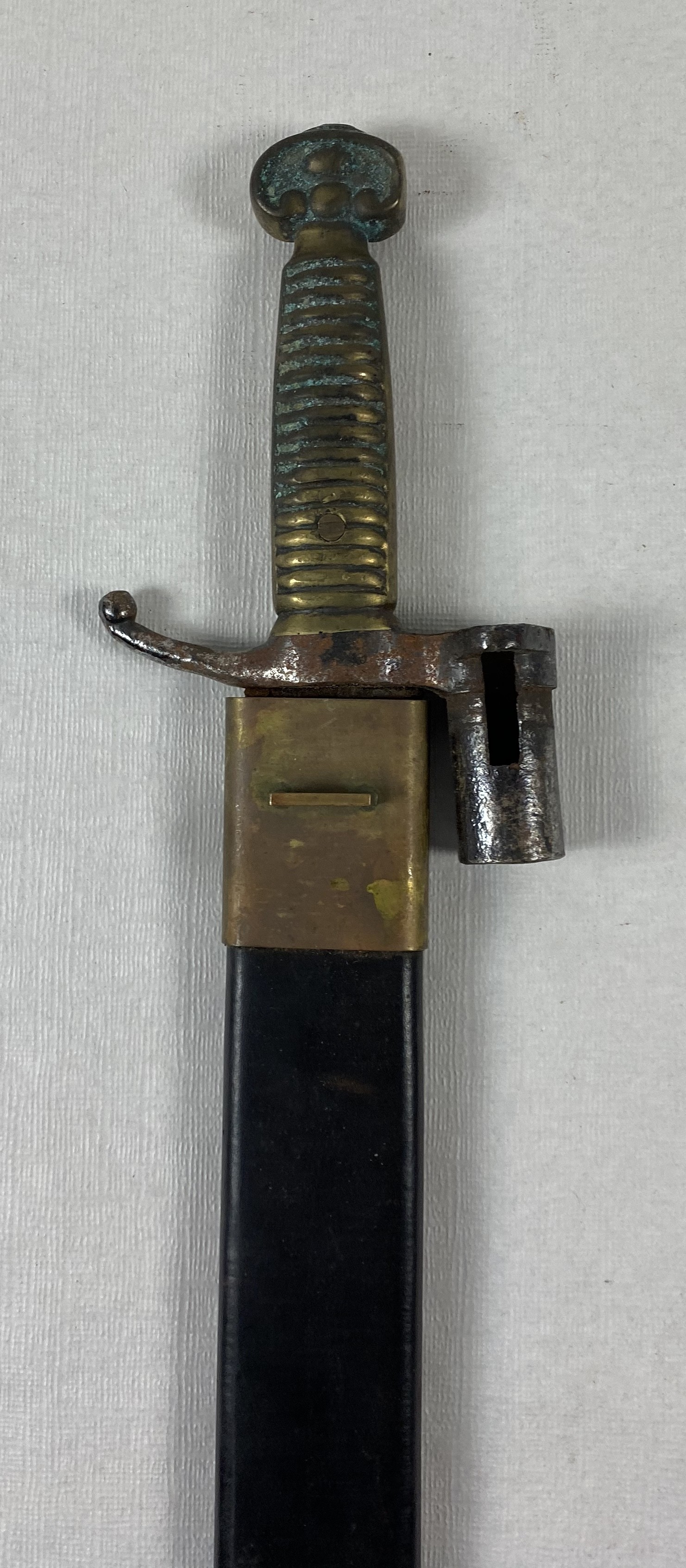BES-MACHETE 1858 BAYONETA ARTILLERÍA