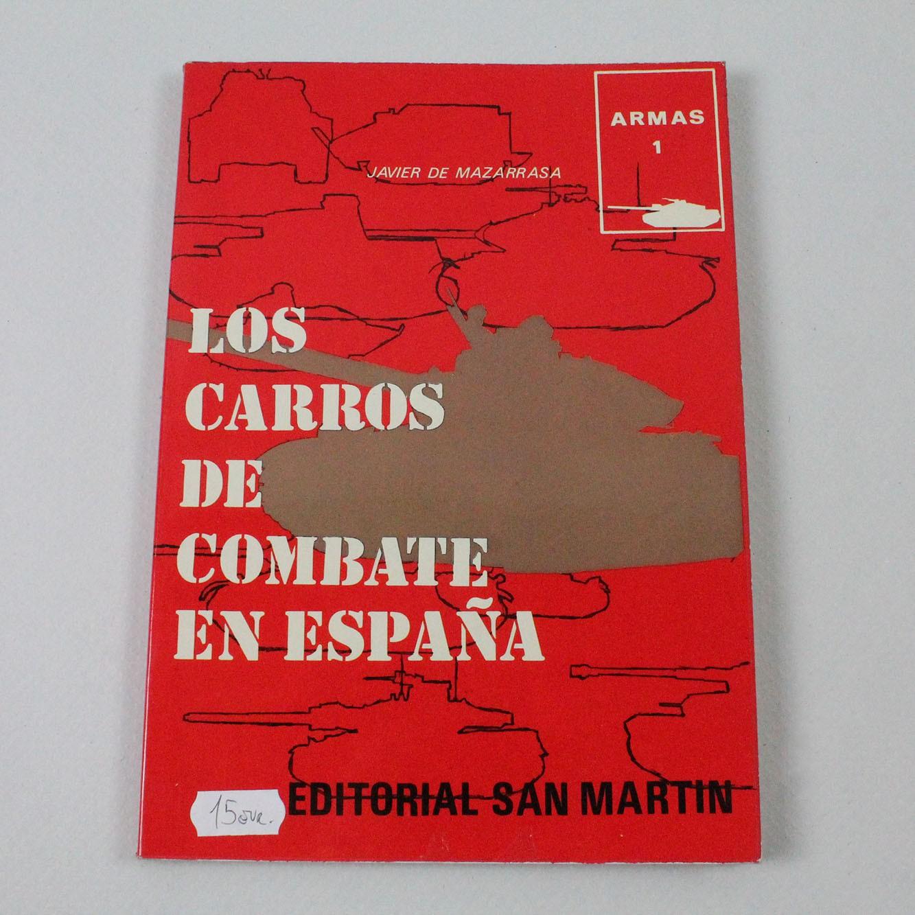 LIBE-CARROS DE COMBATE EN ESPAÑA