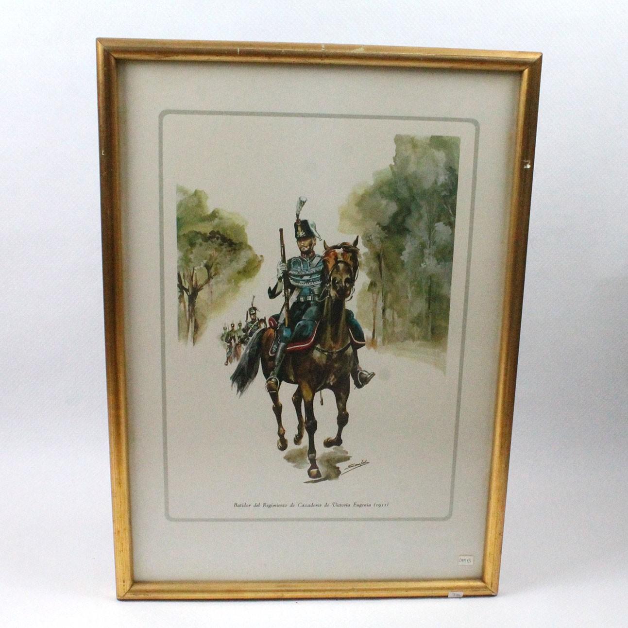 LAM-BATIDOR DEL REGIMIENTO DE CAZADORES DE VICTORIA EUGENIA (1911)