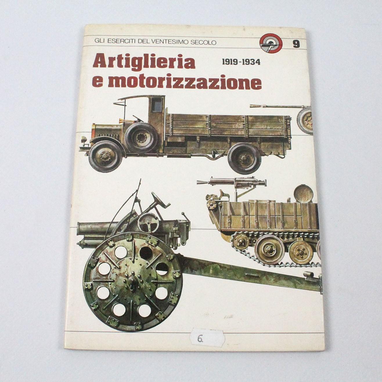 LIBIT-ARTIGLIERIA E MOTORIZZAZIONE 1919-1934