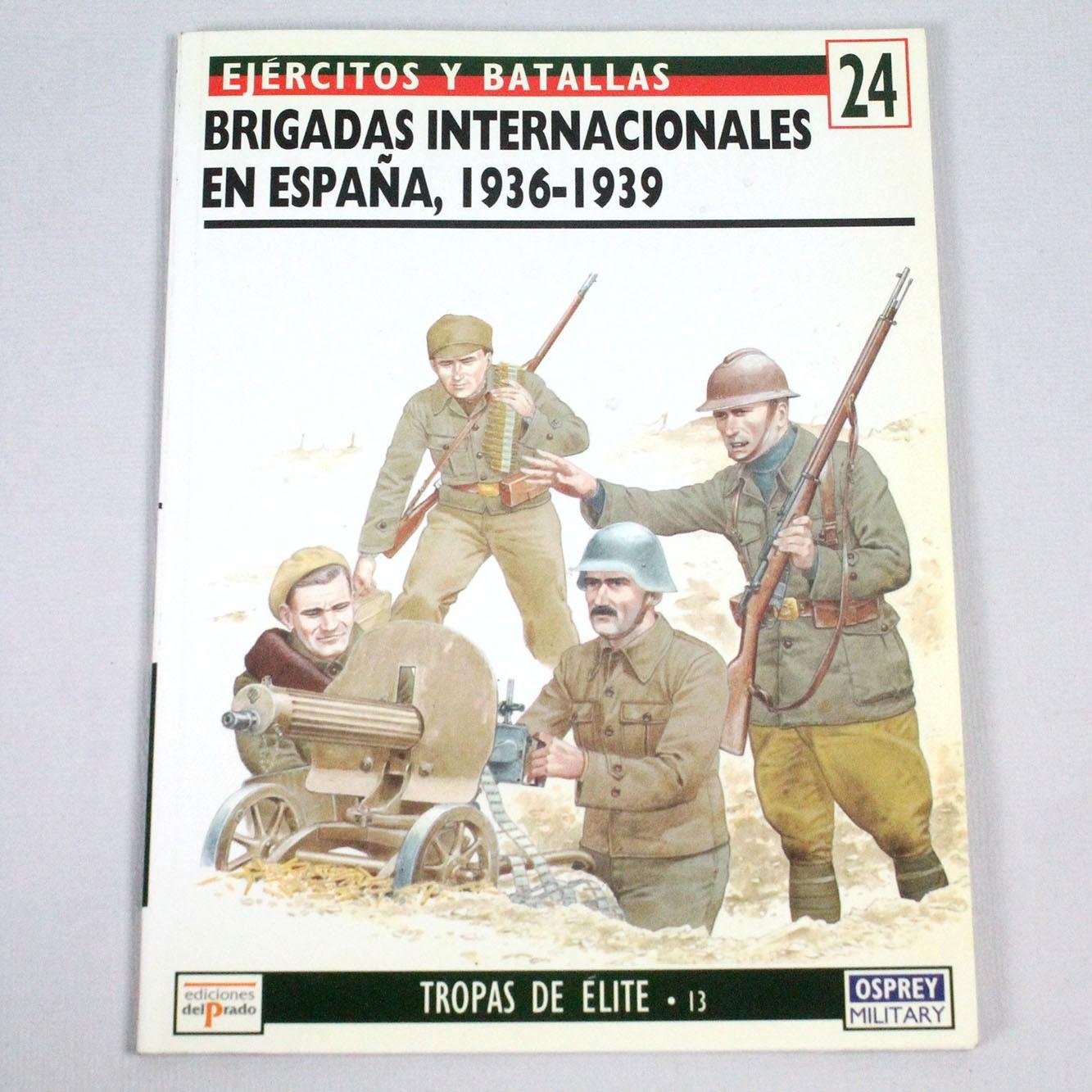 LIBE-BRIGADAS INTERNCACIONALES EN ESPAÑA, 1936-1939