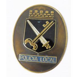 LOC-EL PRAT DE LLOBREGAT PLACA DE CARTERA POLICIA LOCAL