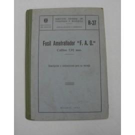 LIBE-FUSIL AMETRALLADOR FAO