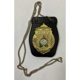 CUELLO-INTERPOL POLICE BADGE