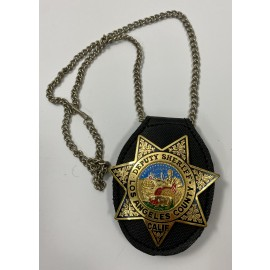 CUELLO-DEPUTY SHERIFF LOS ANGELES COUNTY CALIF. POLICE BADGE