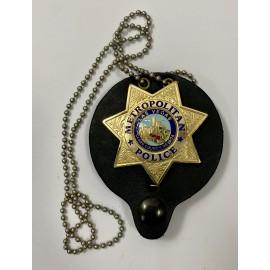 CUELLO-METROPOLITAN POLICE LAS VEGAS CLARK COUNTY. NEVADA POLICE BADGE