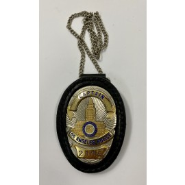 CUELLO-CAPTAIN LOS ANGELES POLICE 2105-POLICE BADGE