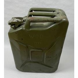 JERRYCAN UK WWII GASOLINA 1944 20 LITROS