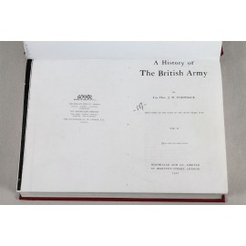 LIBI-A HISTORY OF THE BRITISH ARMY