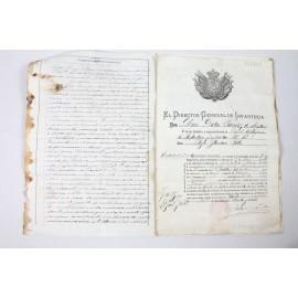 LICENCIA 1889