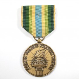 MUS-ARMED FORCES SERVICE MEDAL