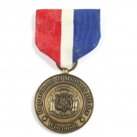MUS-MERITORIOUS SERVICE MEDAL-WISCONSIN