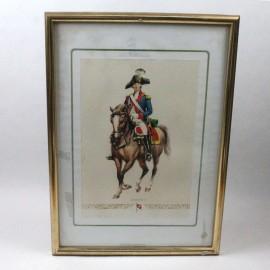 LAM-BASTER 1 REGIMIENTO DE DRAGONES SUIZA 1793