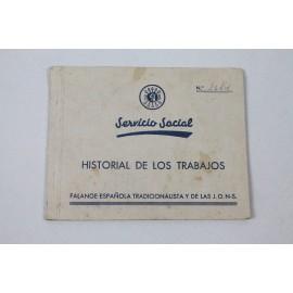 SERVICIO SOCIAL HISTORIAL DE LOS TRABAJOS