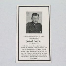 RECORDATORIO-LUDWIG BAYER Y JOSEF BAYER