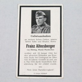 RECORDATORIO-FRANZ ALTERSBERGER