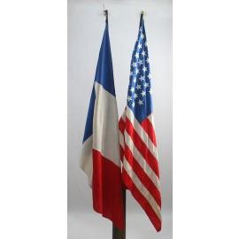 VAR-BANDERAS USA Y FRANCIA