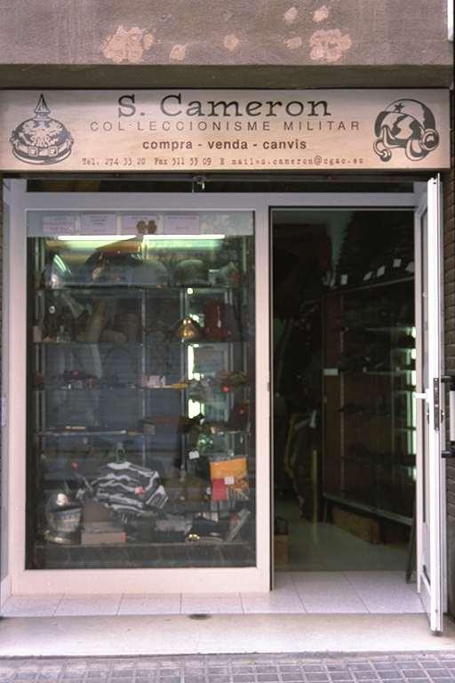 Primera Tienda Militaria en 1996